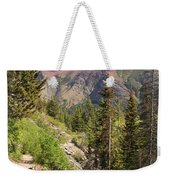 Along St. Mary's Lake Trail Weekender Tote Bag