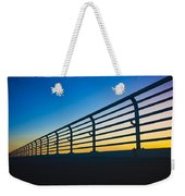Along The Bridge Weekender Tote Bag