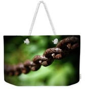 Along The Chain Weekender Tote Bag