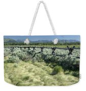 Along The Fence Weekender Tote Bag