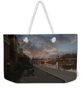 Along The Menasha Riverfront Weekender Tote Bag