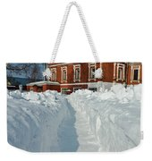 Along The Path To The Church Weekender Tote Bag