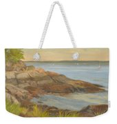 Along The Sound Shore Weekender Tote Bag