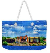 Along The Tennessee River In Decatur Alabama Weekender Tote Bag