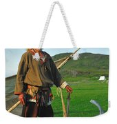 Along The Viking Trail Weekender Tote Bag
