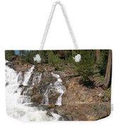 Alpine Creek Falls Lake Tahoe Weekender Tote Bag