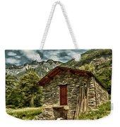 Alpine Ruins Weekender Tote Bag