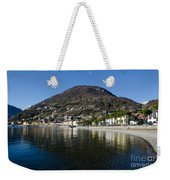 Alpine Village Reflected In The Lake Weekender Tote Bag