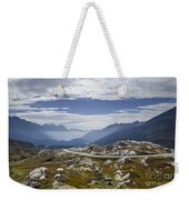 Alps And Road Weekender Tote Bag