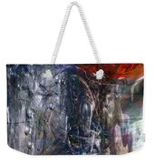 Altered Second Movements Weekender Tote Bag by Linda Sannuti