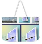 Alternate Universes - Beginning To End Weekender Tote Bag