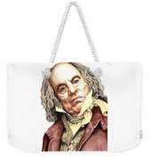 Alun Armstrong Plays Jeremiah Flintwich Weekender Tote Bag