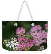 Always Stop To Smell The Flowers Weekender Tote Bag