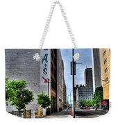 Am And As Downtown Buffalo Vert Weekender Tote Bag