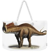 Amargasaurus Cazaui, A Prehistoric Era Weekender Tote Bag