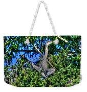 Amazing Heron Weekender Tote Bag