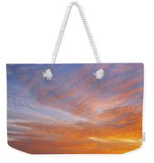 Amazing Sunset Over Pasture Weekender Tote Bag