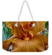 Amber Iris Weekender Tote Bag