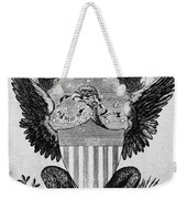 America: Coat Of Arms Weekender Tote Bag