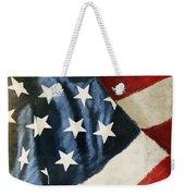 America Flag Weekender Tote Bag
