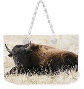 American Bison 2 Weekender Tote Bag