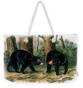 American Black Bear, 1844 Weekender Tote Bag