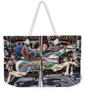 American Carousel Horse Weekender Tote Bag