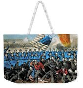 American Civil War, Battle Of Malvern Weekender Tote Bag by Photo Researchers