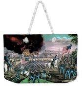 American Civil War, Capture Of Atlanta Weekender Tote Bag