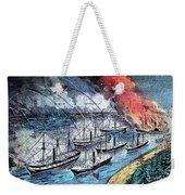 American Civil War, Farraguts Fleet Weekender Tote Bag