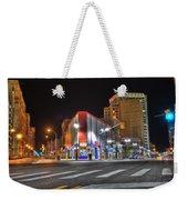 American Coney Island Weekender Tote Bag by Nicholas  Grunas