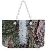 American Dagger Moth Caterpillar Weekender Tote Bag