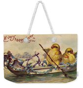 American Easter Card Weekender Tote Bag by Granger