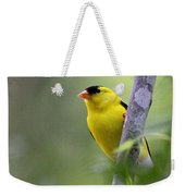 American Goldfinch - Peaceful Weekender Tote Bag