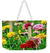 American Goldfinch In The Garden Weekender Tote Bag