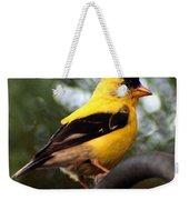 American Goldfinch Weekender Tote Bag