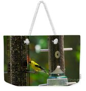 American Goldfinch Weekender Tote Bag