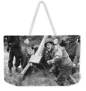American Howitzers Shell German Forces Weekender Tote Bag