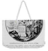 American Independence Weekender Tote Bag