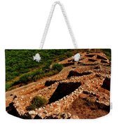 American Indian Patterns Of Living - Greeting Card Weekender Tote Bag