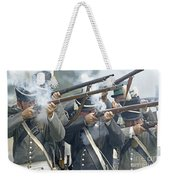 American Infantry Firing Weekender Tote Bag