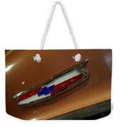 Chevrolet Hood Emblem Weekender Tote Bag