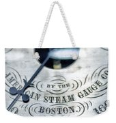 American Steam Gauge Weekender Tote Bag