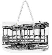 American: Streetcar, 1880s Weekender Tote Bag by Granger