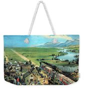 American Transcontinental Railroad Weekender Tote Bag
