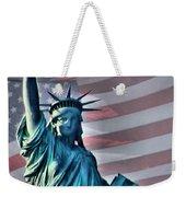 American Welcome Weekender Tote Bag