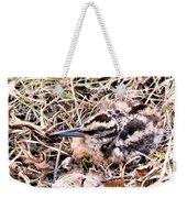 American Woodcock Chick No. 2 Weekender Tote Bag