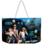 Americana - Car - The Classic American Vacation Weekender Tote Bag
