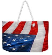Americana - Flag - Stars And Stripes  Weekender Tote Bag
