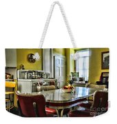 Americana - 1950 Kitchen - 1950s - Retro Kitchen Weekender Tote Bag